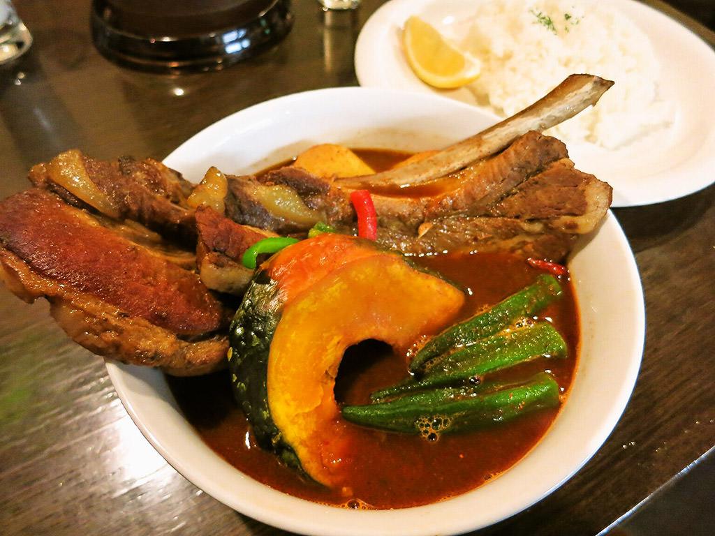 Curry Di.SAVoY (カリー ディ サボイ)「北海道産スペアリブのカリー(ラージ)」