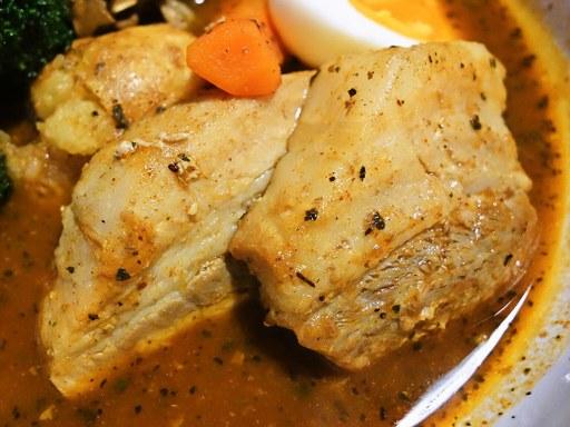 札幌らっきょ (本店)「道産もち豚角煮と愛別舞茸スープカレー」 画像11