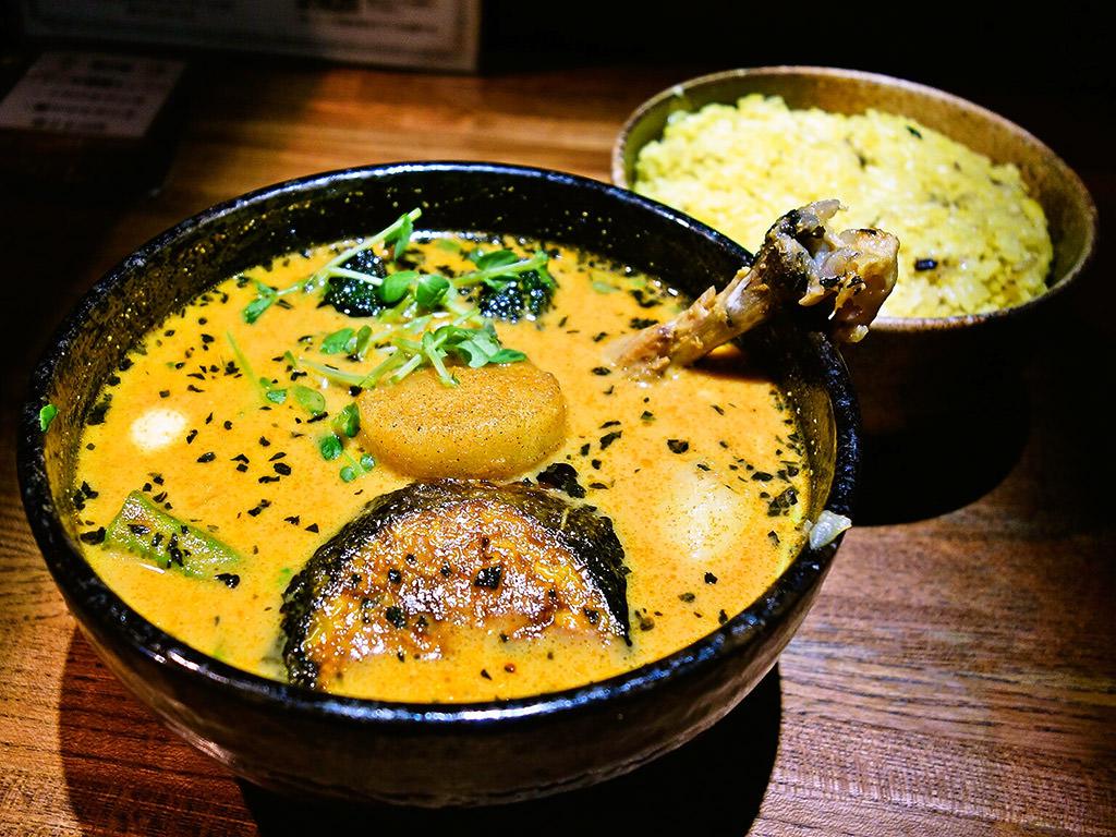 スープカリー イエロー (Soup Curry Yellow)「チキン野菜カリー」