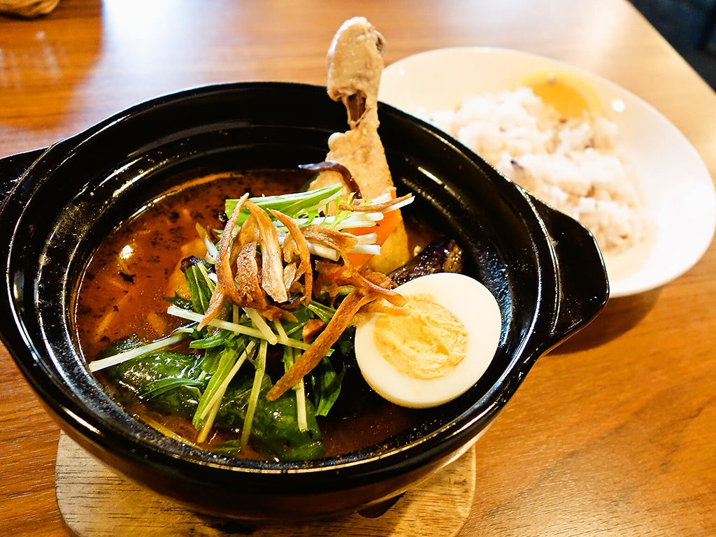 Curry Shop ALLEGLA(アレグラ)「スープカレー 骨付きチキン」