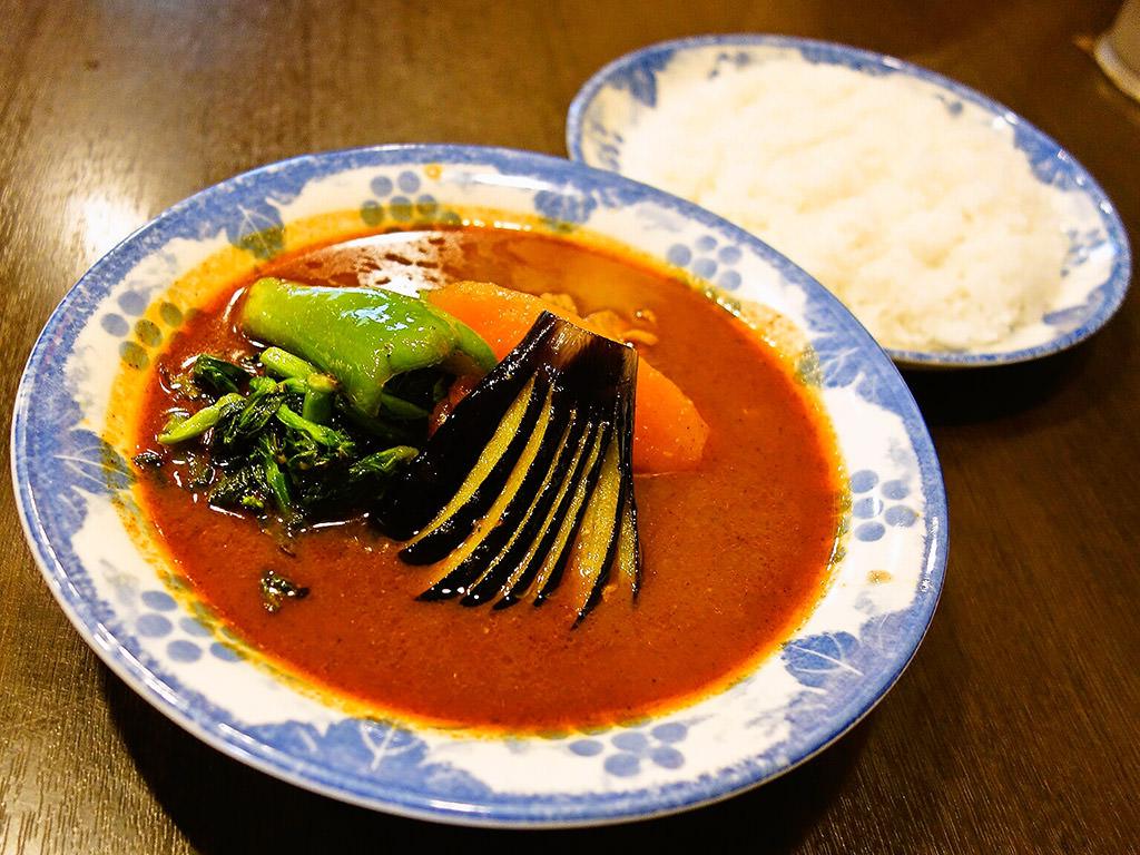 スープカリー 木多郎 澄川本店「チキン野菜」
