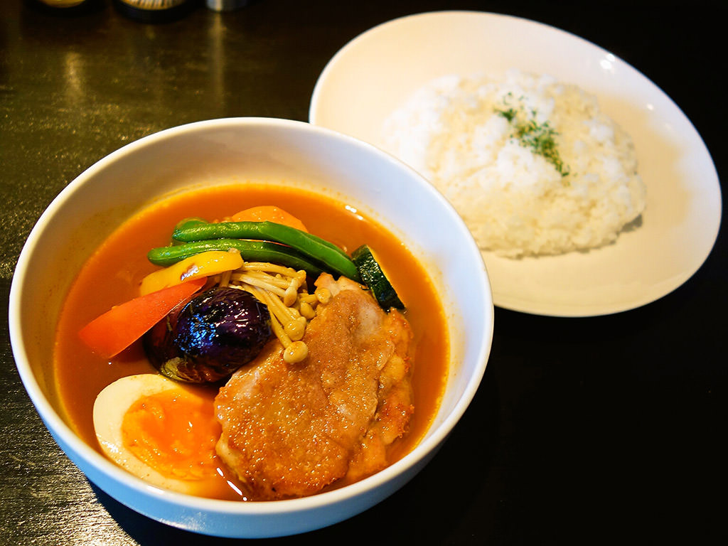 CURRY YA!CONG (カリーヤ!コング)「チキン野菜(もも肉ソテー)」