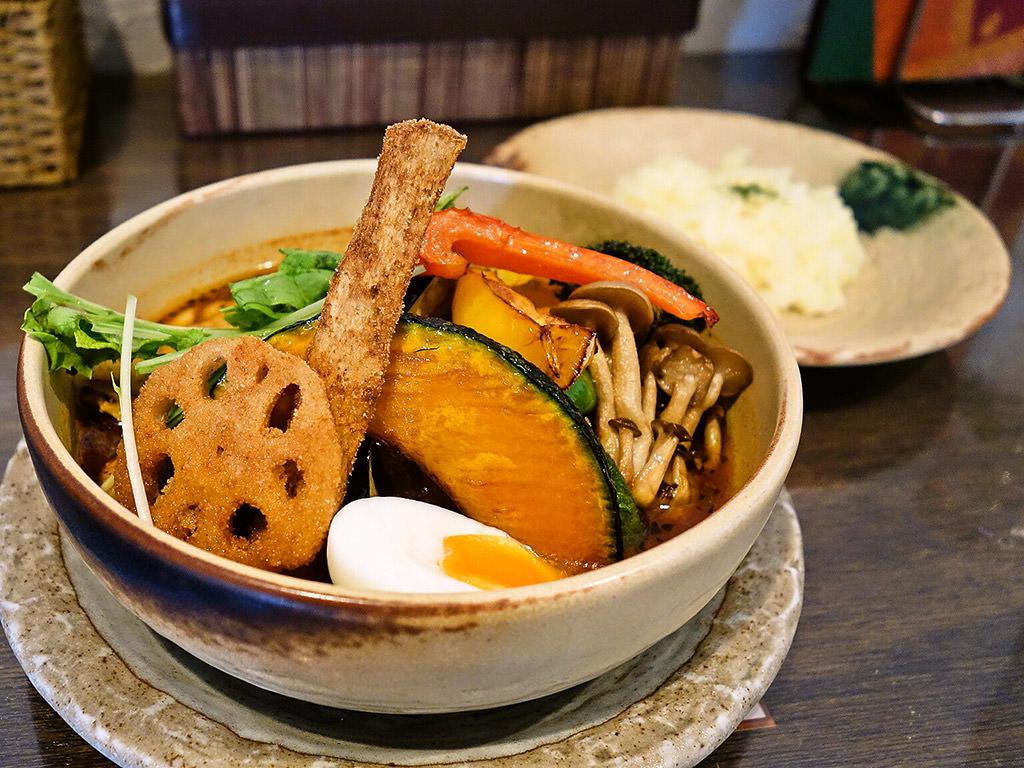 SoupCurry MATALE(マタレー) 円山店「チキンベジタブルカレー」