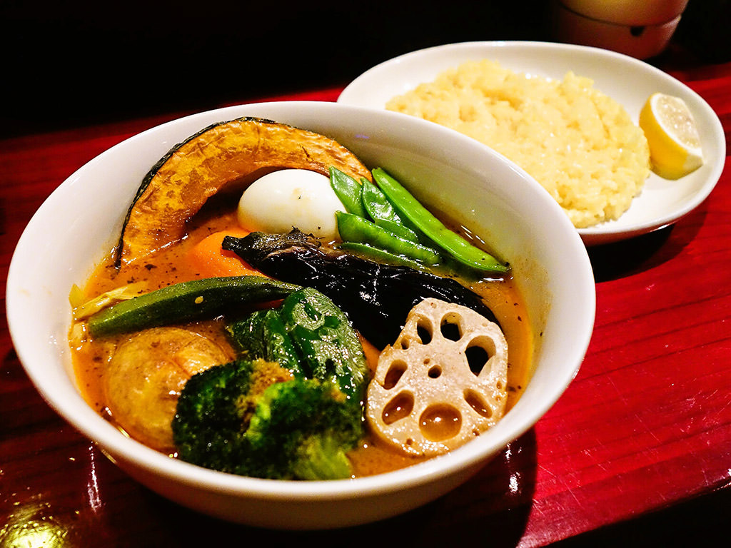 soup curry Algo [アルゴ]「ベジタブル」