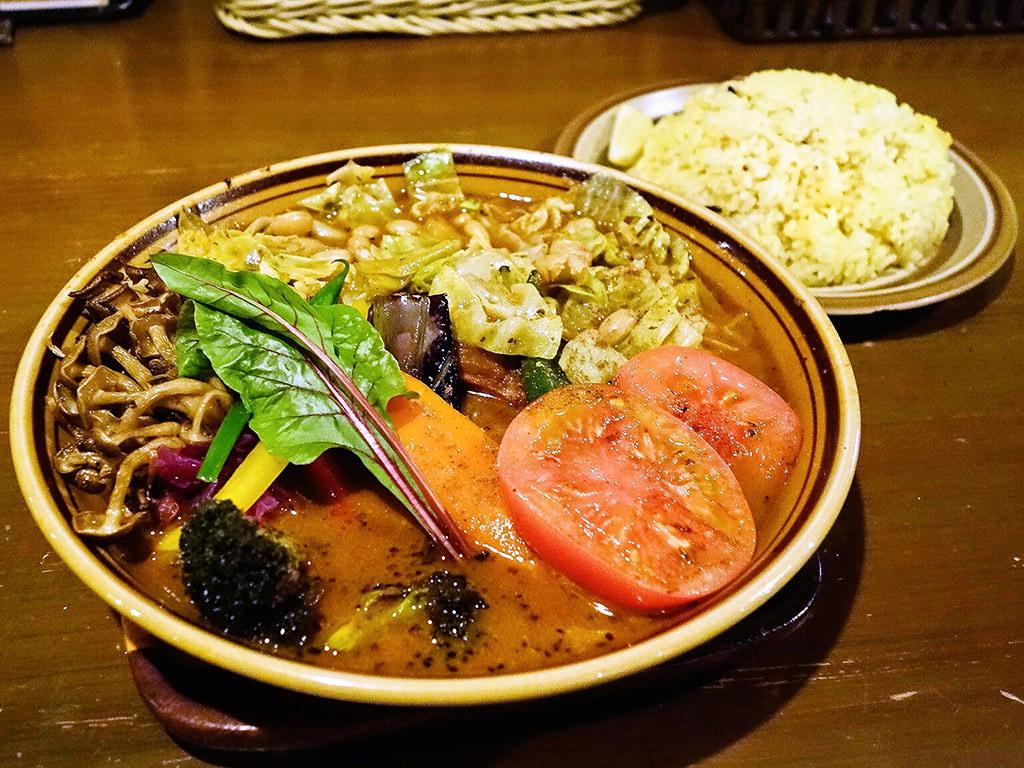SOUPCURRY TREASURE (トレジャー)「どっさり一日分の野菜」