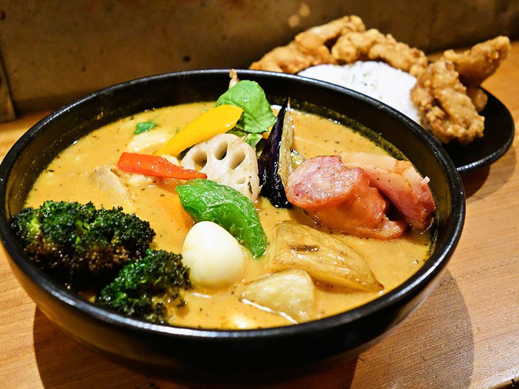 Soup Curry SAMURAI. (路地裏カリィ侍.) さくら店「侍.スペシャル」