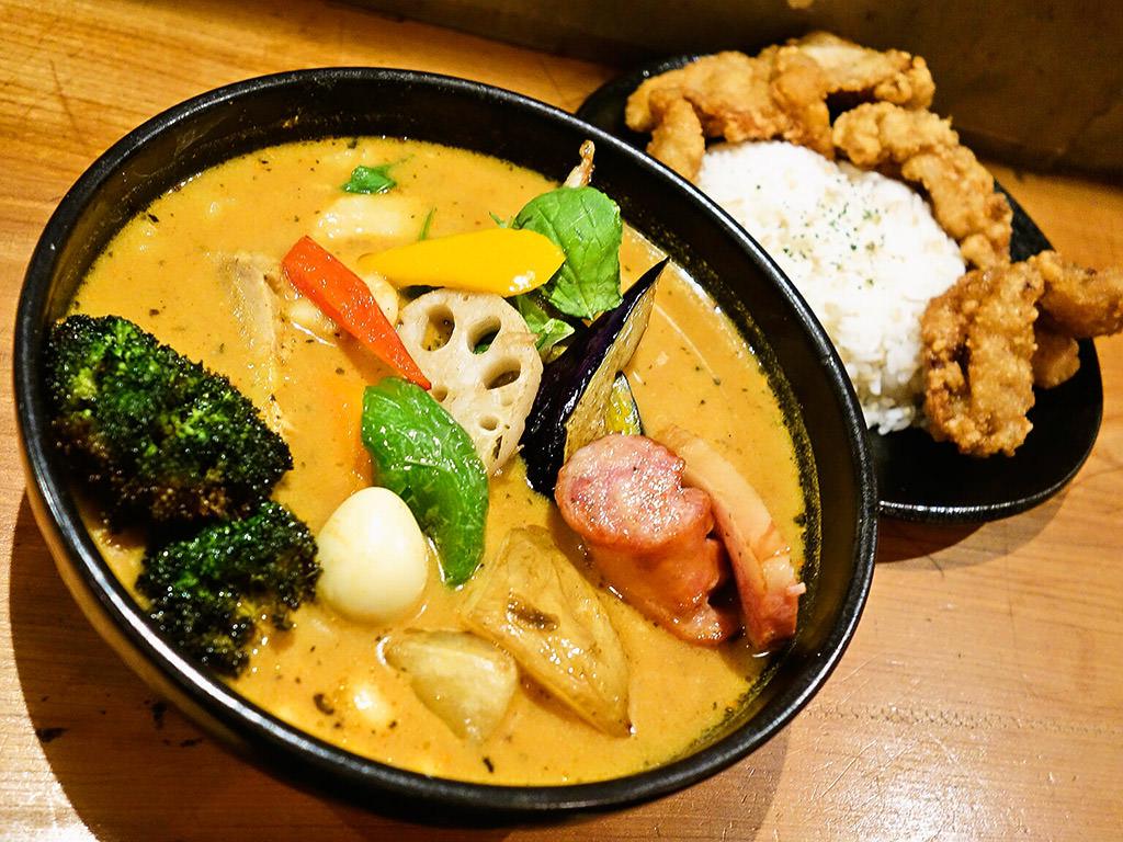 Rojiura Curry SAMURAI. (路地裏カリィ侍.) 西野店