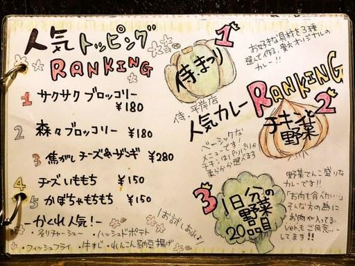 Rojiura Curry SAMURAI. (路地裏カリィ侍.) 平岸総本店 | 店舗メニュー画像7