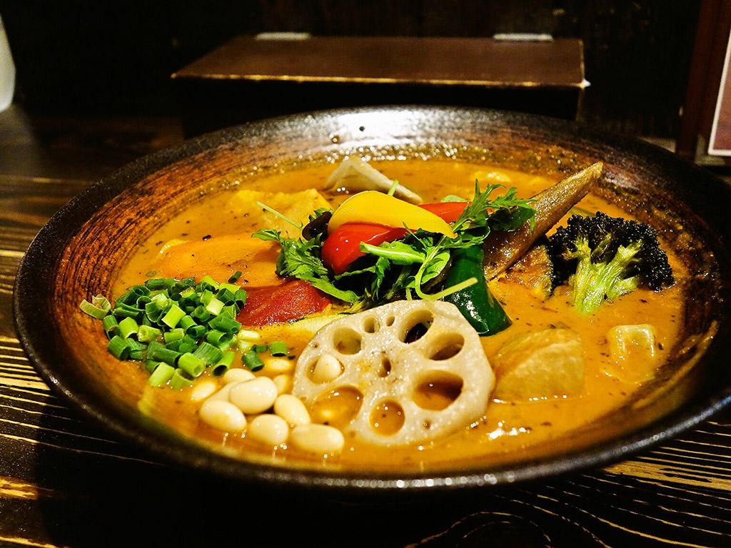 Rojiura Curry SAMURAI. (路地裏カリィ侍.) 平岸総本店