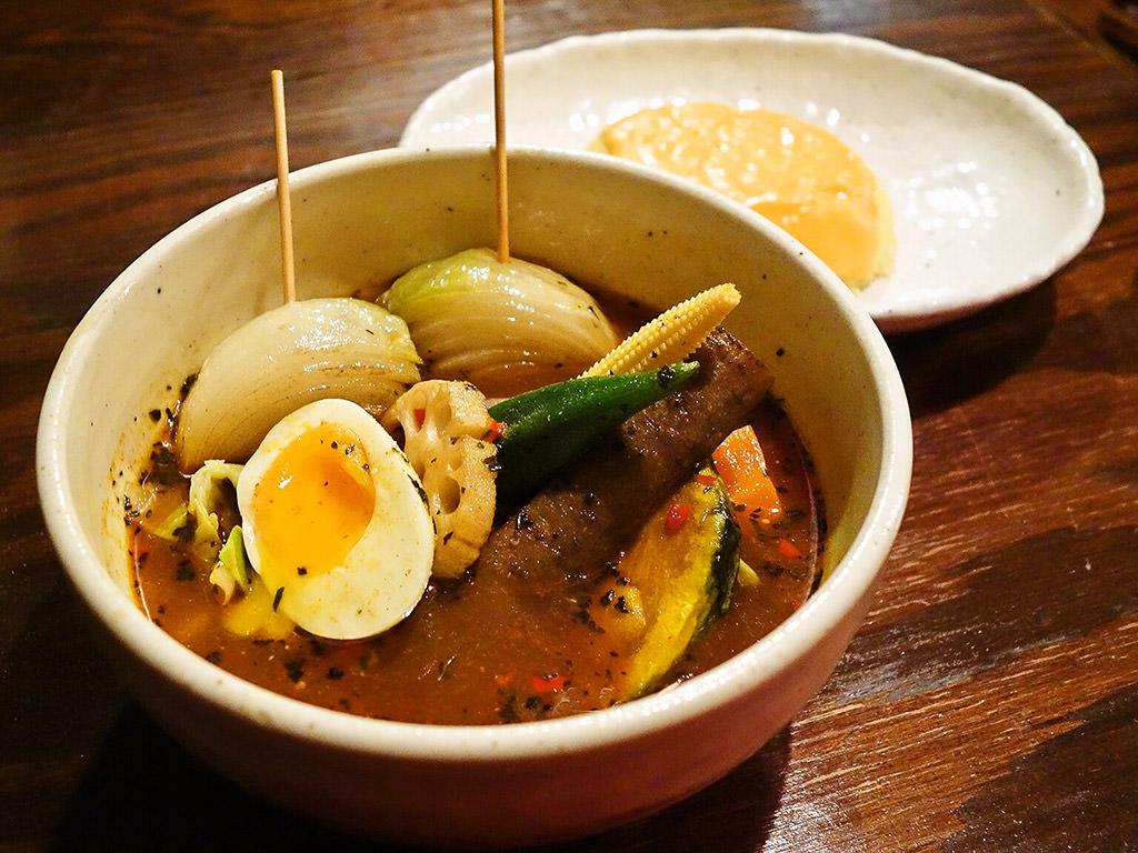 スープカレー ドミニカ「野菜」