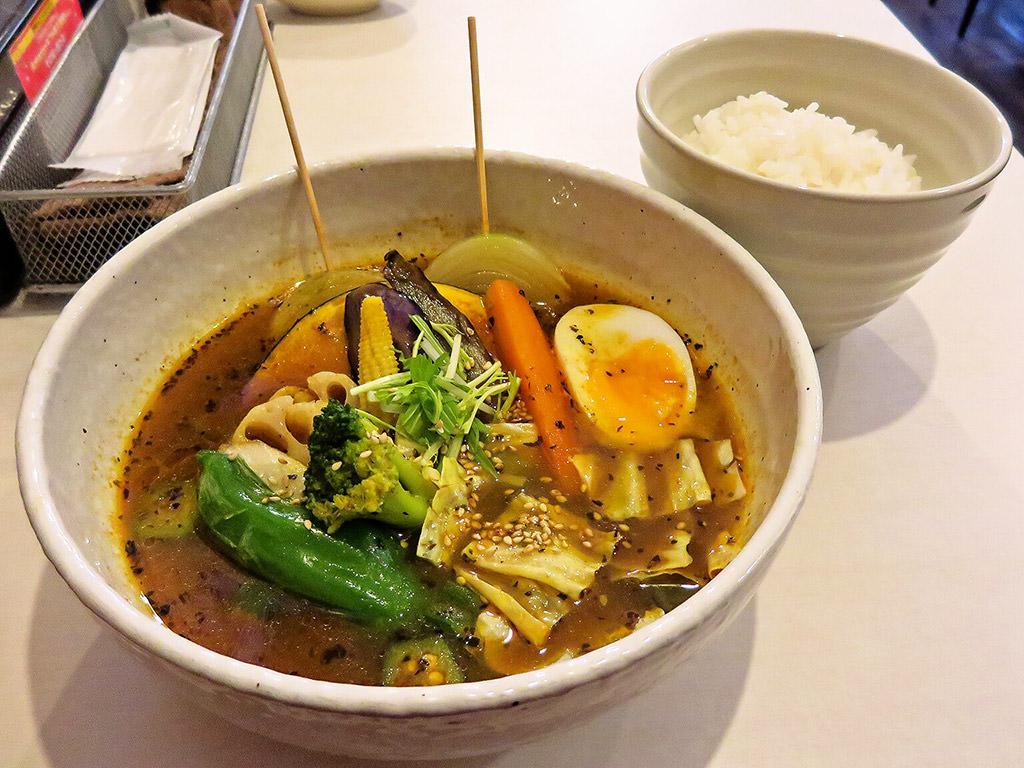 スープカレーの田中さん「ベジタブル」