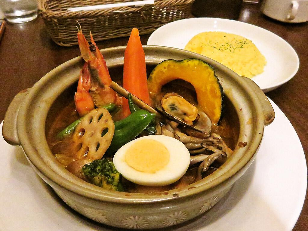 札幌スープカレー傾奇 KABUKI「シーフード&野菜」