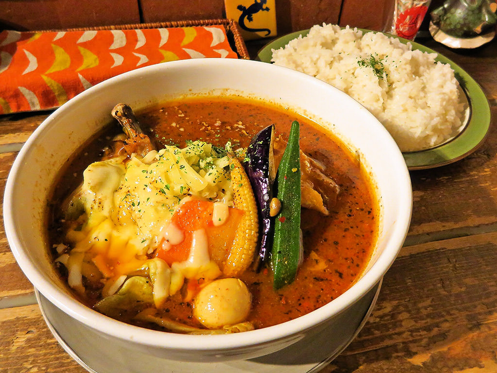 Small curry bar Cancun (カンクーン)「チキン&ベジタブル」