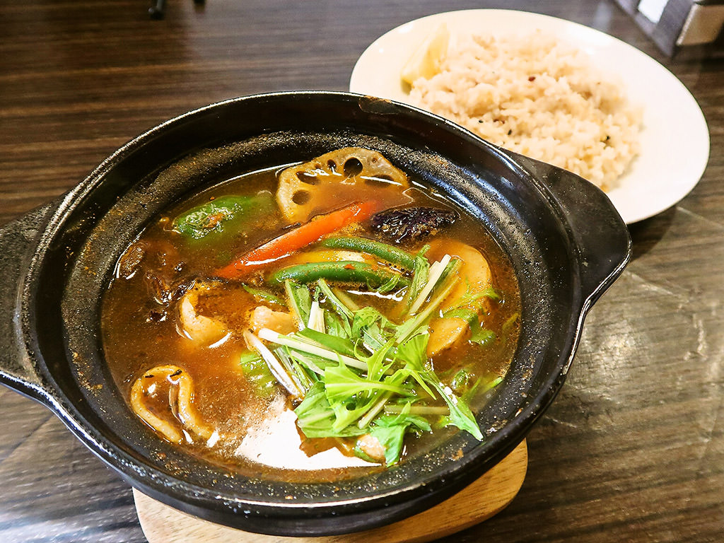 Curry Shop ALLEGLA(アレグラ)「スープカレー 豚しゃぶ」
