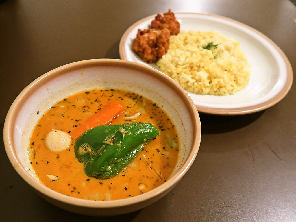 SOUP CURRY KING セントラル「俺の唐揚げカリー」