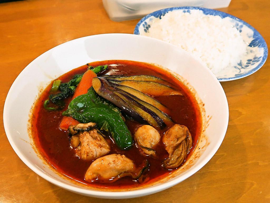 スープカリー 木多郎 澄川本店「かき野菜」