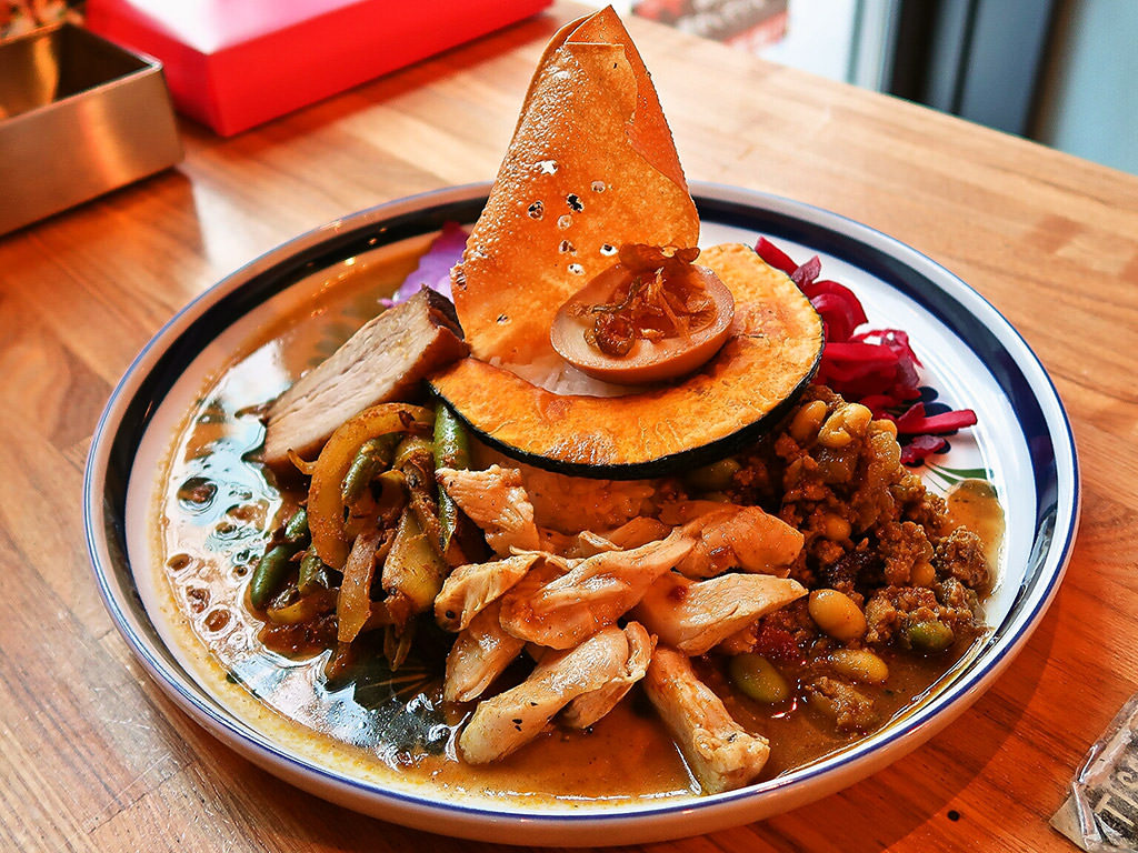 カレー&ごはんカフェ 【ouchi】 (おうち)「ouchiのスリランカ風カレー」