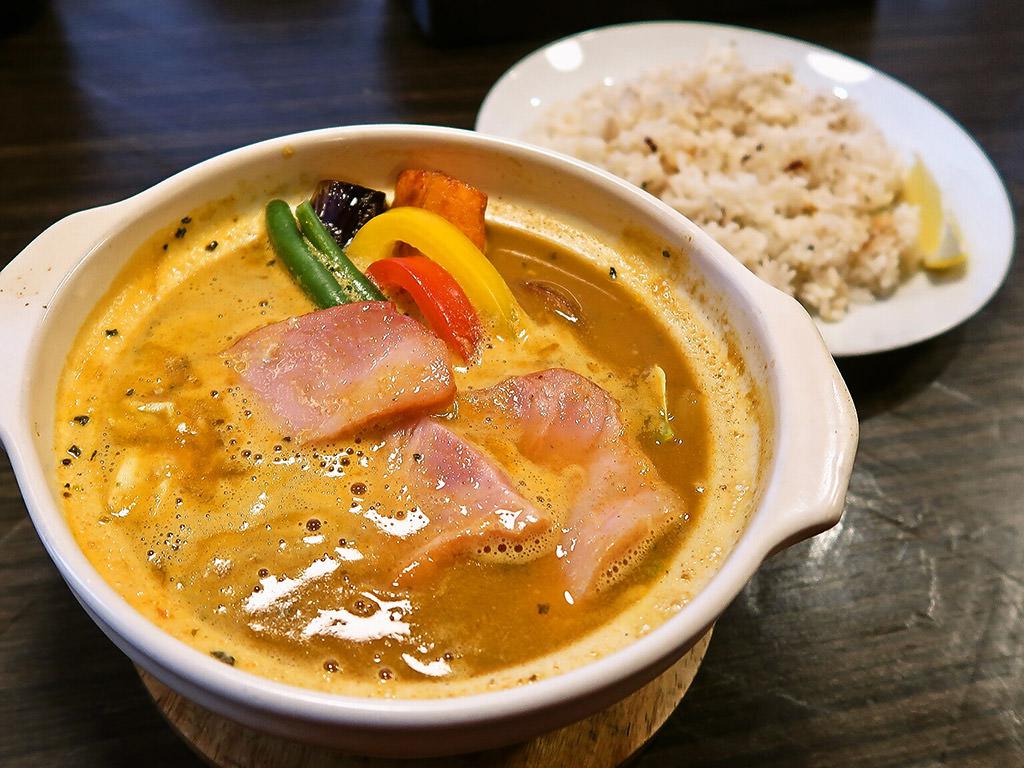 Curry Shop ALLEGLA(アレグラ)「スープカレー ベーコンキャベツ」