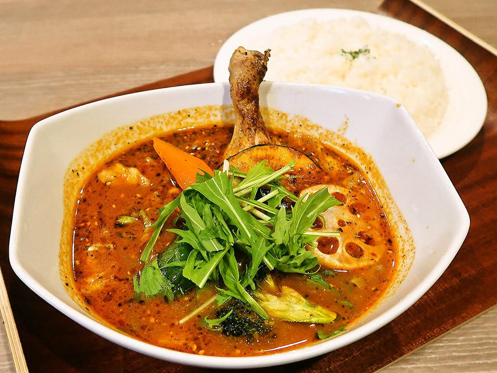 BISTRO MINAMIYA ビストロミナミヤ (旧店名:Curry Shop 南家)「チキンベジタブル」