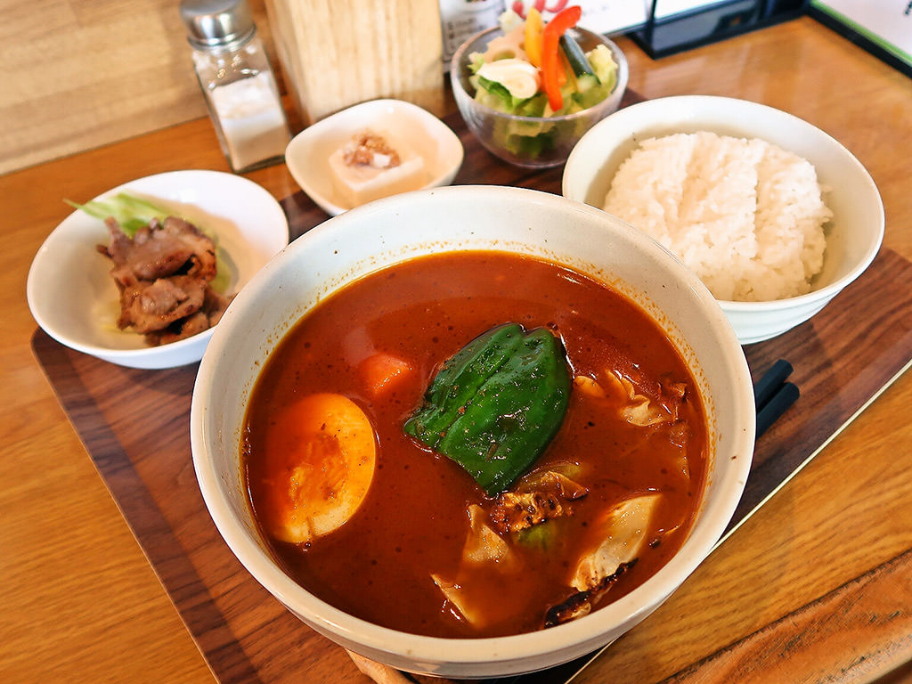 スープカレー店 34「スープカレー定食・チキン」