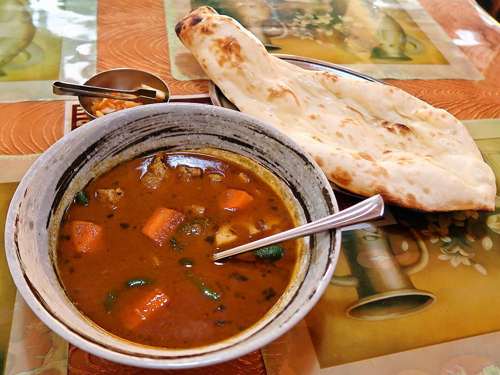 インド料理 ラム [札幌市北区]「シシカバブスープカリィ」