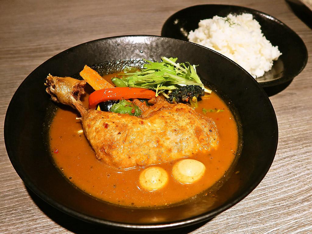 スパイシースポット Soup Curry & Cafe「SoupCurry チキン」