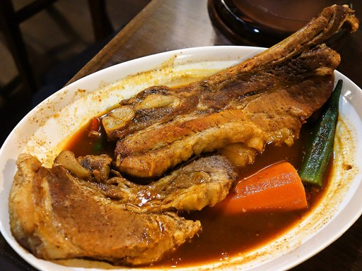 Curry Di.SAVoY (カリー ディ サボイ)「北海道産スペアリブのカリー(ラージ)」 画像10