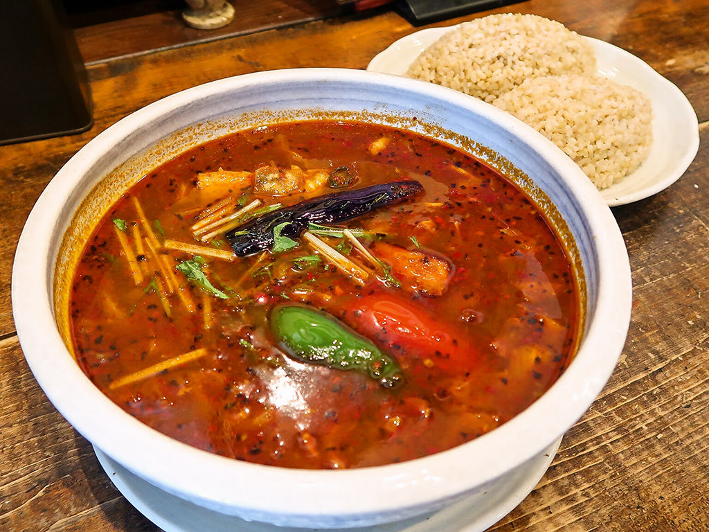 札幌スープカレー 曼荼羅 (マンダラ 西町本店)「ポーク角煮」