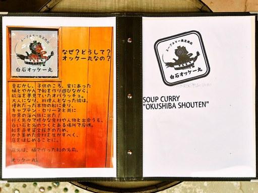 スープカリー 奥芝商店 白石オッケー丸 | 店舗メニュー画像4