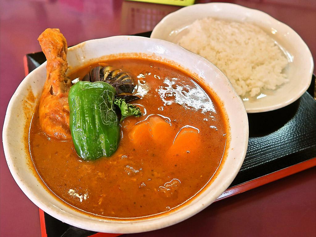 札幌カリーぱお「チキン野菜カリー」