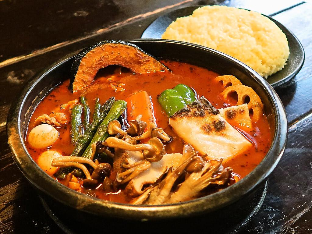 Asian Bar RAMAI(ラマイ) 札幌中央店「スープカレー ブヒッ」