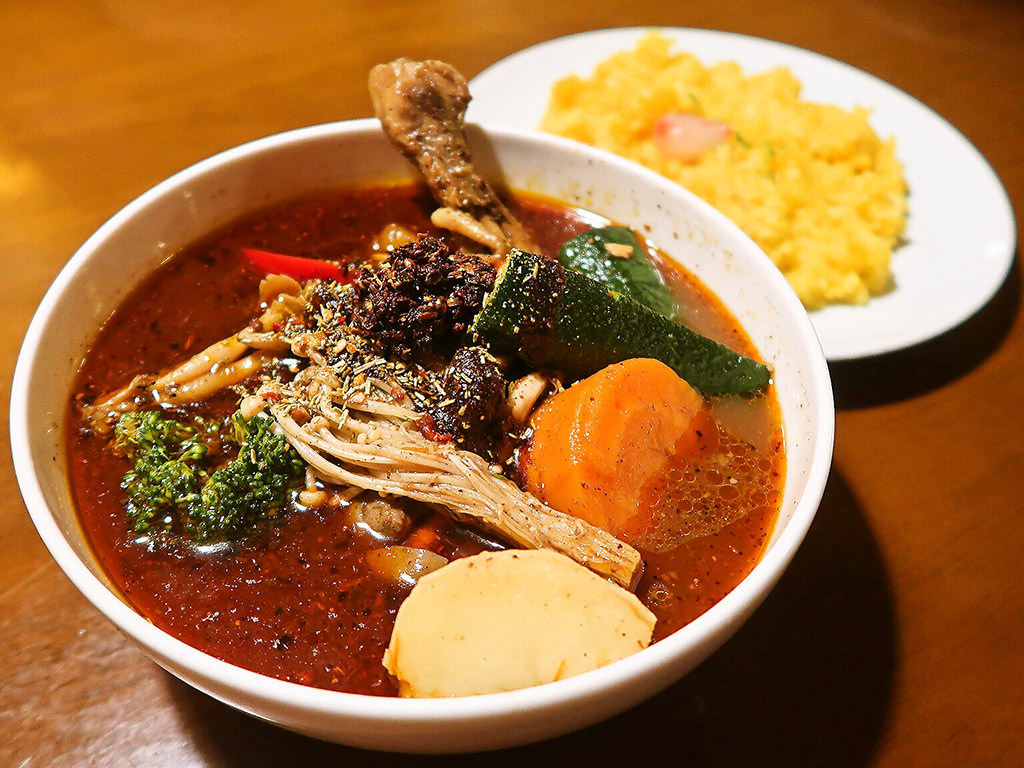 スープカリィ厨房 ガネー舎「とり野菜カリィ」