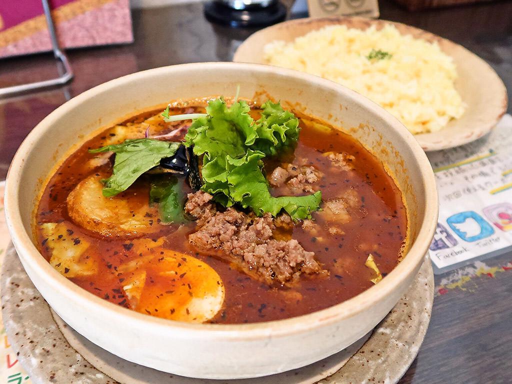 SoupCurry MATALE マタレー (円山店)「粗挽きラム挽肉カレー」