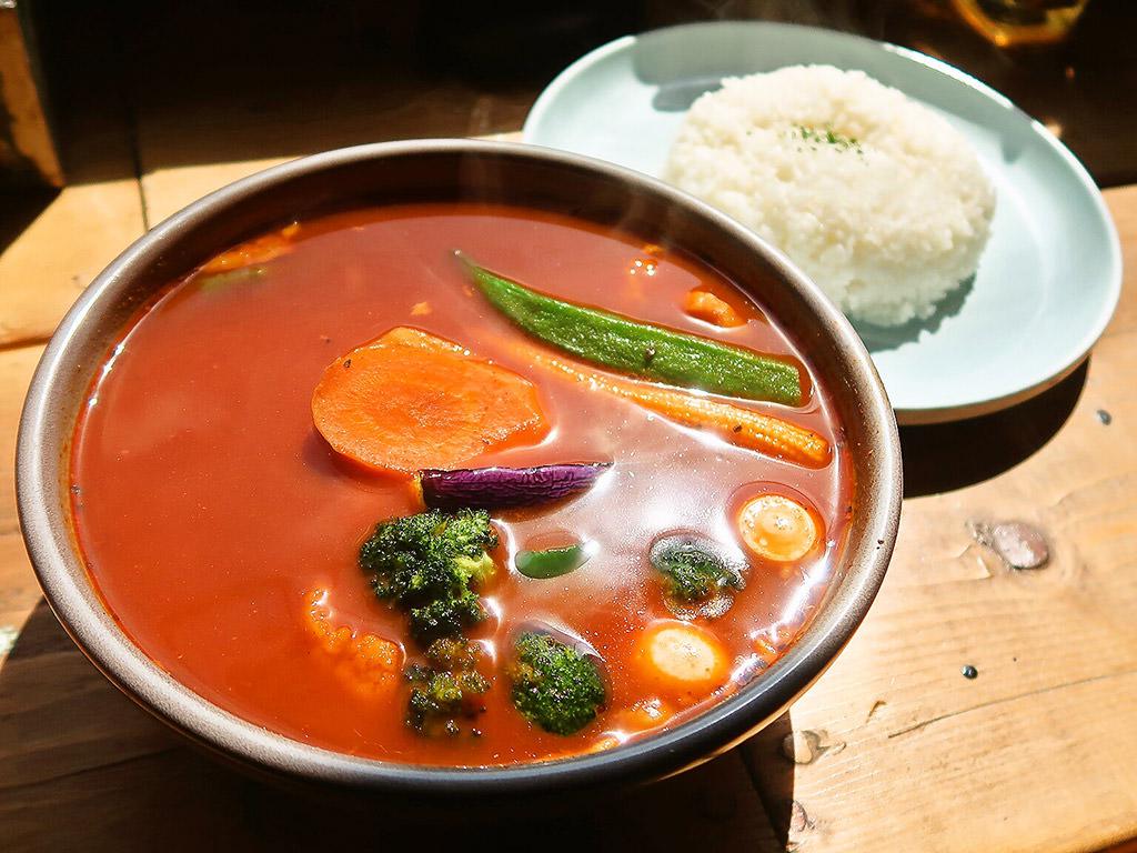 SAMA n26 SOUP CURRY FACTORY「チキン野菜カリー」