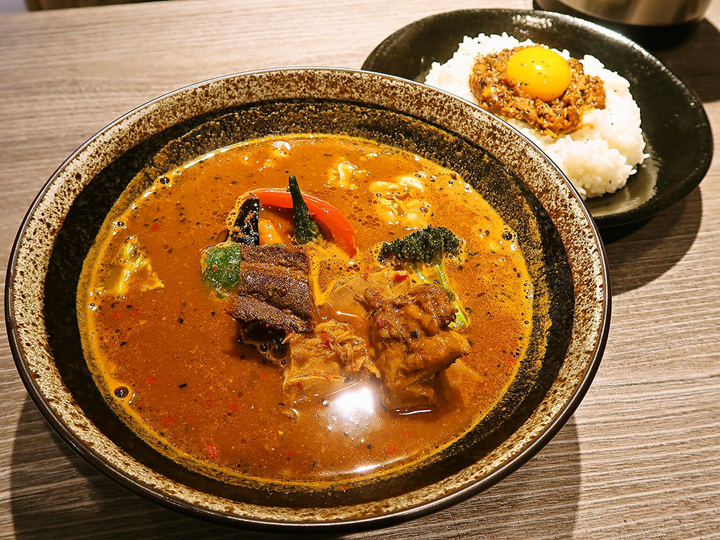 スパイシースポット Soup Curry & Cafe「スープカレーランチ・とろとろ角煮」